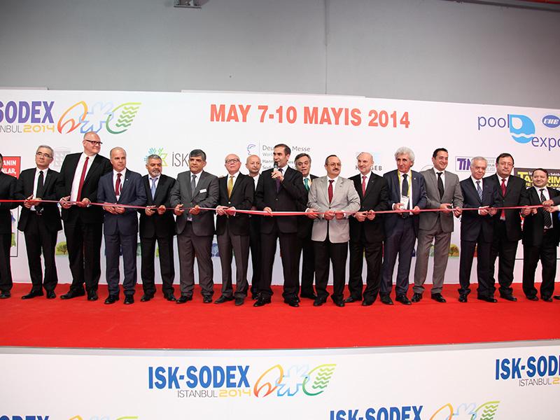ISK-SODEX 2014: inaugurazione - il taglio del nastro