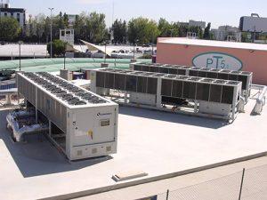 impianti di climatizzazione areoporto di Lisbona