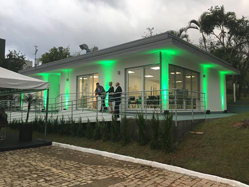 La climatizzazione di Casa Habitech in Brasile