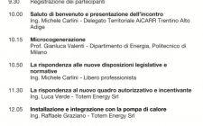 Evento AiCARR a Trento: Microcogenerazione, dall'integrazione con la pompa di calore alla rispondenza alle nuove disposizioni
