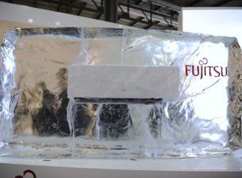Fujitsu -climatizzatore Serie KG, 215 mm di profondità, classe A +++ sia in riscaldamento sia in raffrescamento, con sensori di presenza