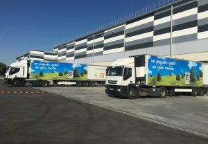 stabilimento logistico LIDL, Spagna