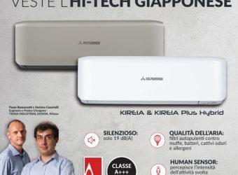 Un design tutto italiano veste l'hi-tech giapponese