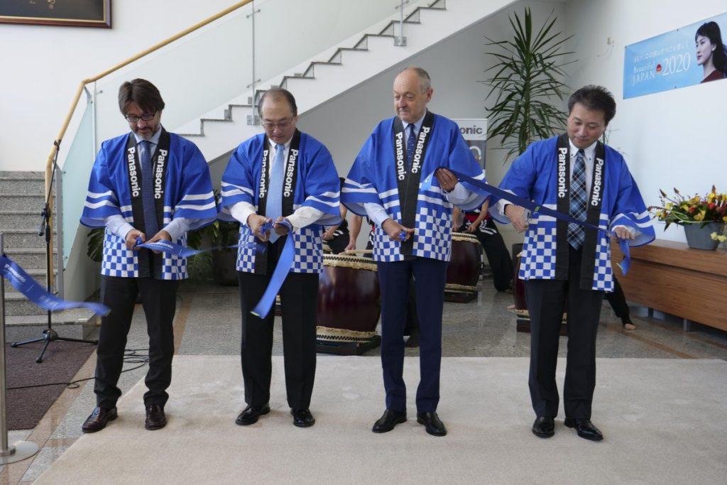 inaugurazione, stabilimento, Panasonic, Pilsen, Repubblica Ceca
