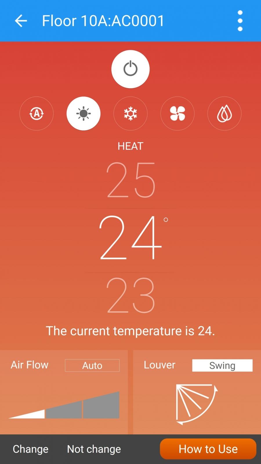 cold app Toshiba