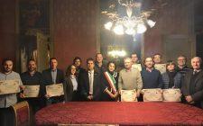 Il Direttore del Centro Studi Galileo, Ing. Buoni, accoglie una delegazione di dieci esperti europei