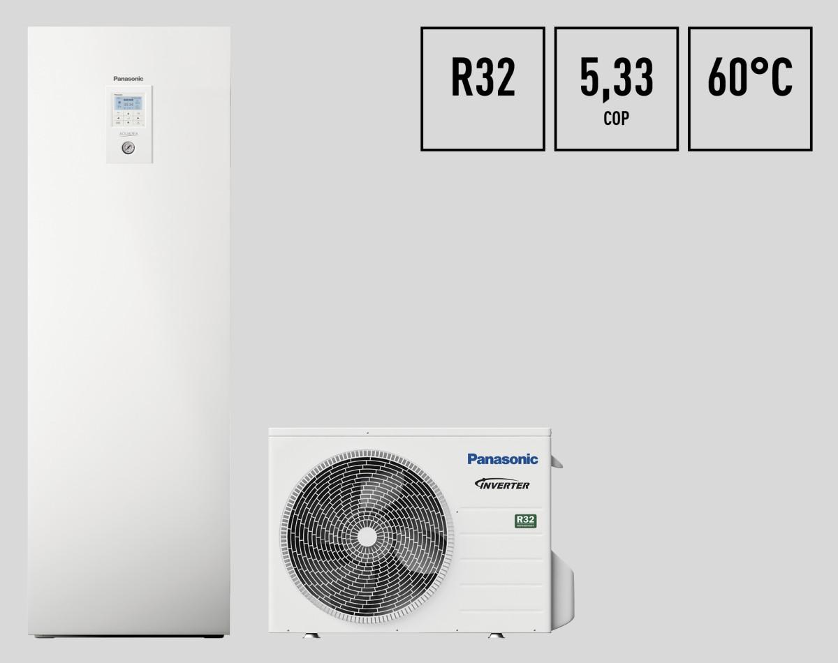 Panasonic Air Conditioning: le pompe di calore Aquarea generazione J con refrigerante R32