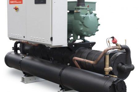FX-W/H: la nuova gamma di pompe di calore con sorgente acqua e compressori a vite