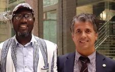 Madi Sakandé presidente U-3ARC - Marco Buoni, direttore Centro Studi Galileo presidente AREA
