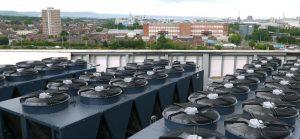climatizzazione campus Ulster University Belfast